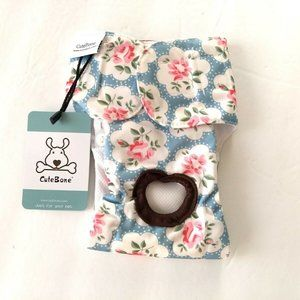 Cute Bone Small Dog Diaper Washable Reusable